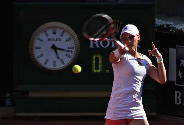 Samantha Stosur at Roland Garros