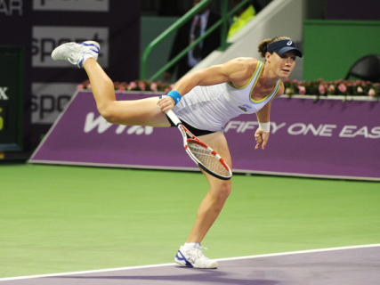 Samantha Stosur at the Qatar Open in Doha
