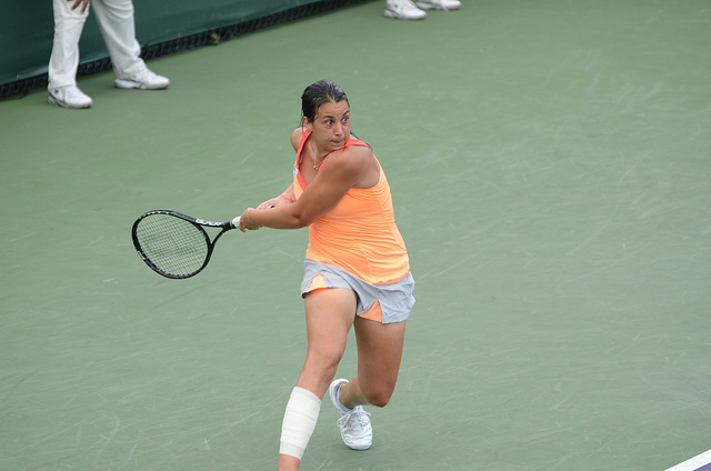 Marion Bartoli at the Sony Ericsson Open in Miami