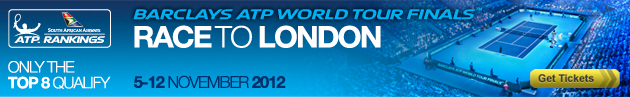 Post image for London 2012 ATP Tour Finals