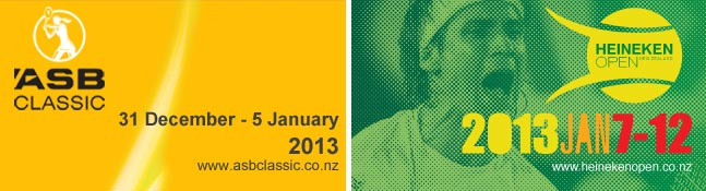 Auckland Classic and Open 2013 logos