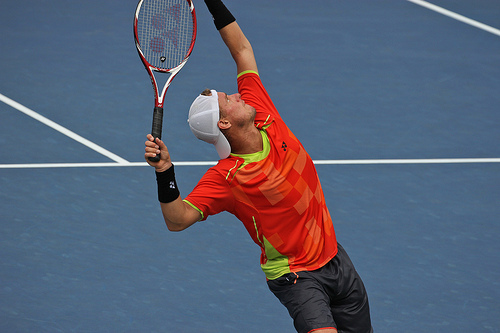 Lleyton Hewitt at the US Open