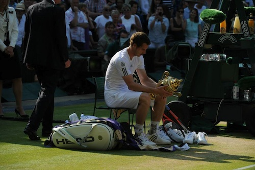 Andy Murray captures Wimbledon trophy
