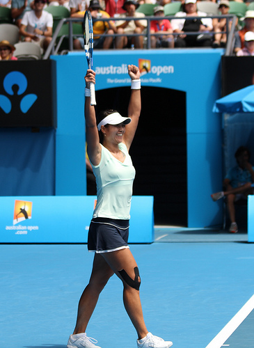 Li Na at the Australian Open