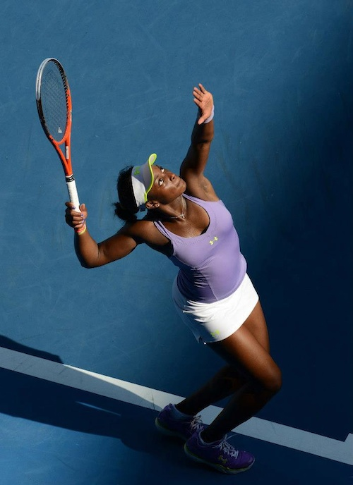 Sloane Stephens at Australian Open 2013