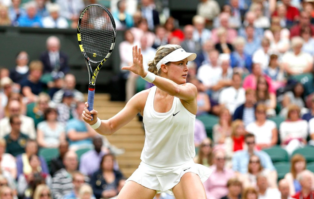 Eugenie Bouchard at Wimbledon 2014