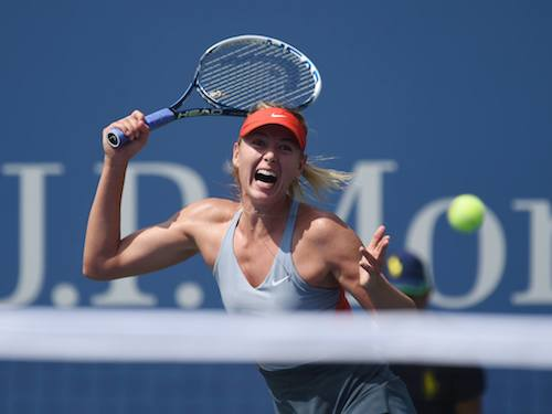 Sharapova US Open 2014