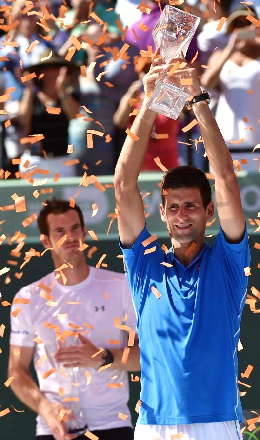 Djokovic defeats Murray in Miami final