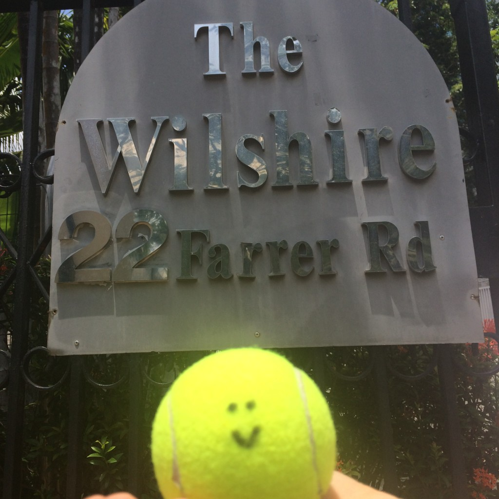 Tennis Lessons in Singapore for The Wilshire email info@oncourtadvantage.com