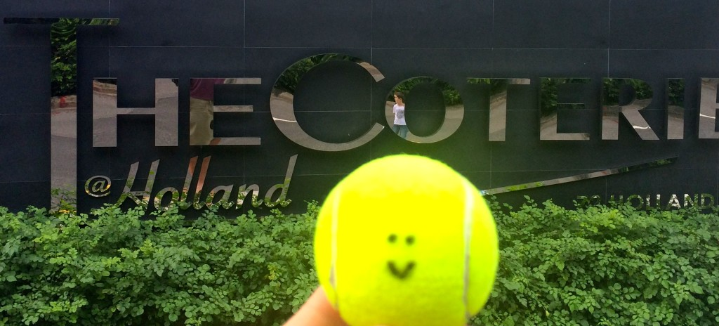 Tennis Lessons in Singapore for The Coterie at Holland email info@oncourtadvantage.com
