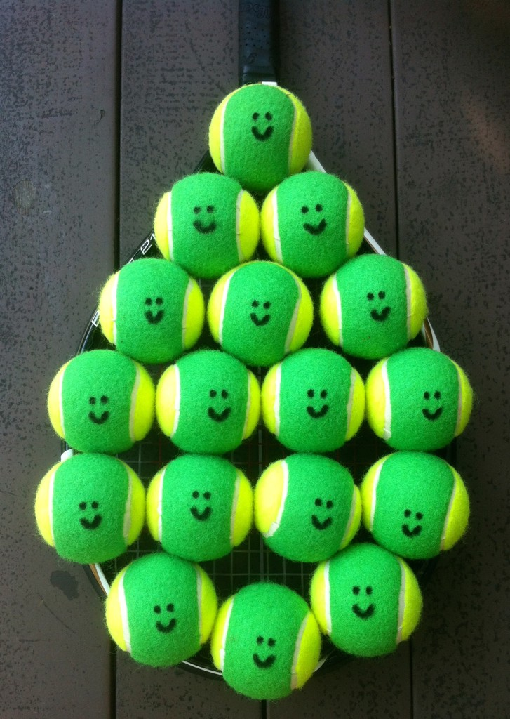 Junior Tennis Lessons in Singapore Green Balls email info@oncourtadvantage.com
