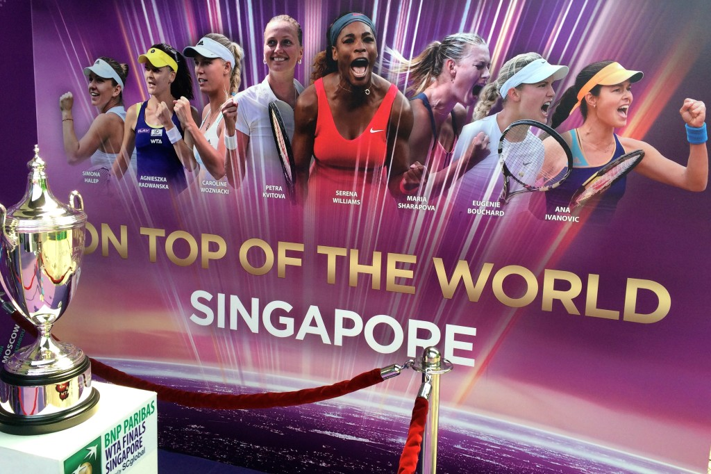 Singapore tennis lessons at the WTA Finals email info@oncourtadvantage.com for more details