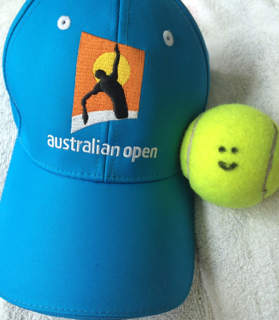Australian Open tennis hat