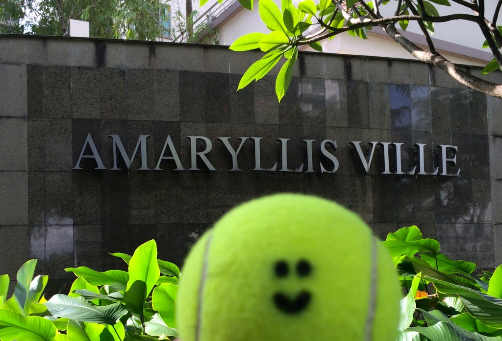 Tennis lessons in Singapore for Amaryllis Ville email info@oncourtadvantage.com