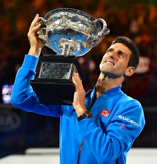 Novak Djokovic 2015 Australian Open Men's Singles Champion