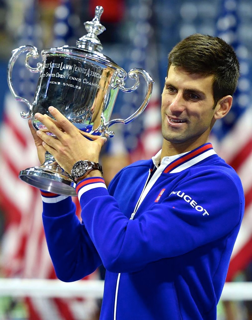 Novak Djokovic 2015 US Open Men's Singles Champion